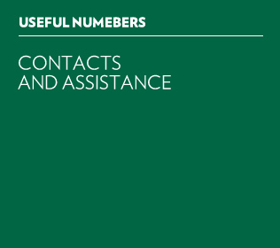 USEFUL NUMBERS