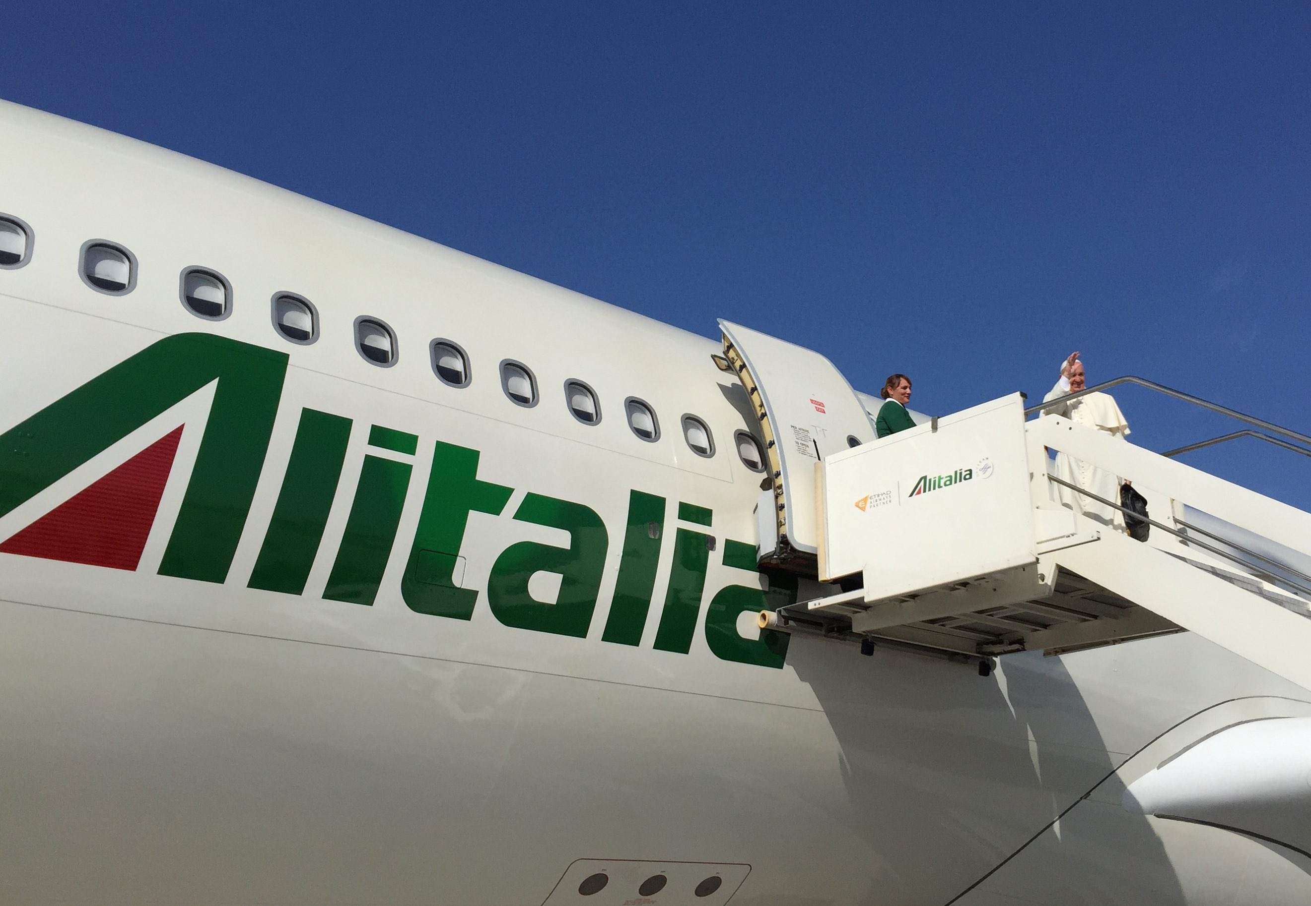 Four Alitalia pilots on duty on this flight Paolo La Cava Flight Operations Post Holder 46 years old from Milan married with two children
