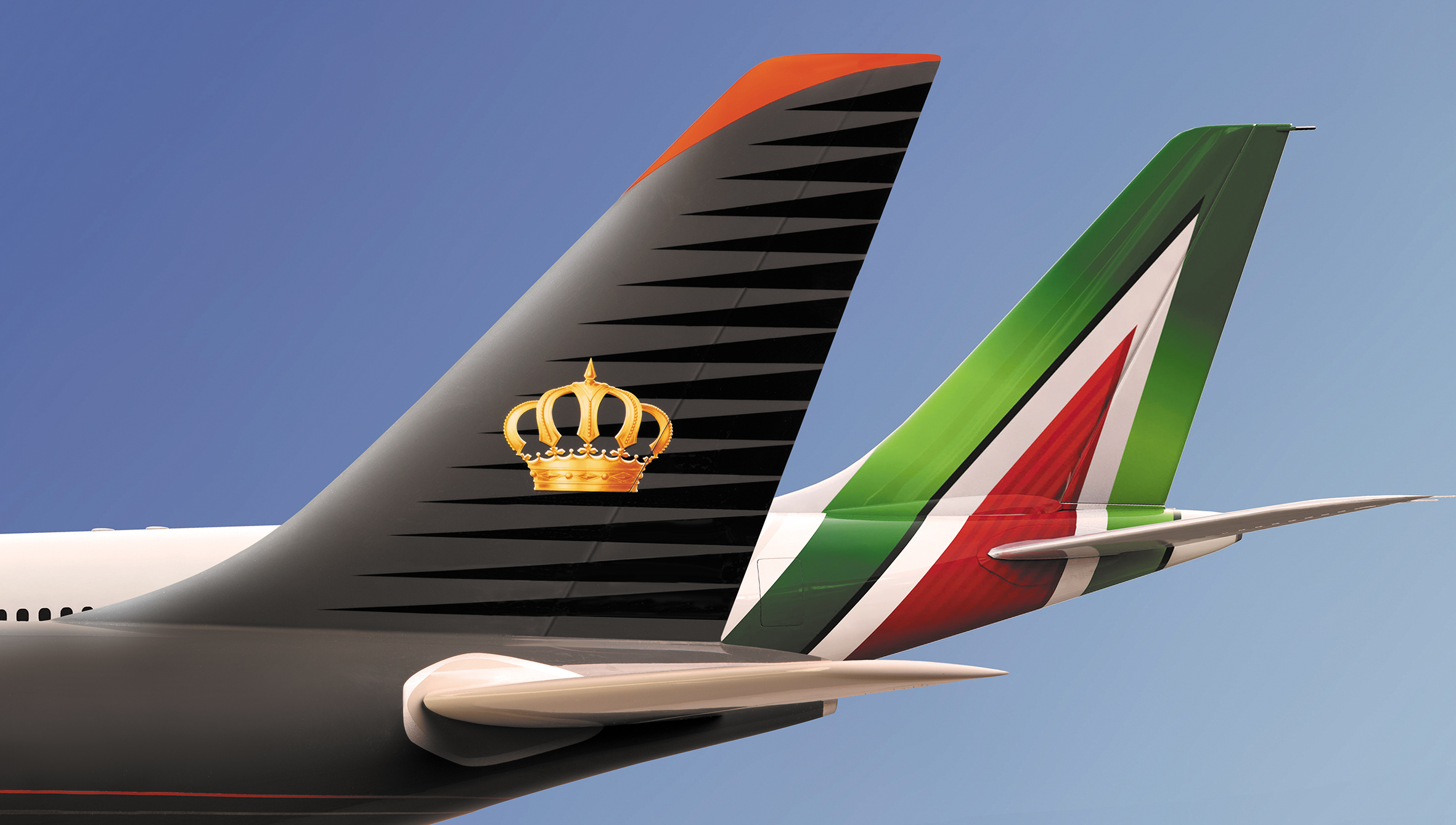 """sale from today for travels beginning on 6 February the agreement will allow Alitalia to widen its middle east network by placing its """"AZ"""" flight code"""